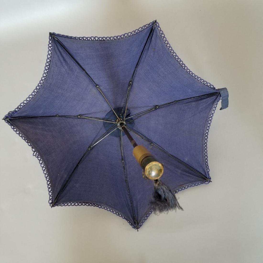 Blue Carriage Parasol - 3