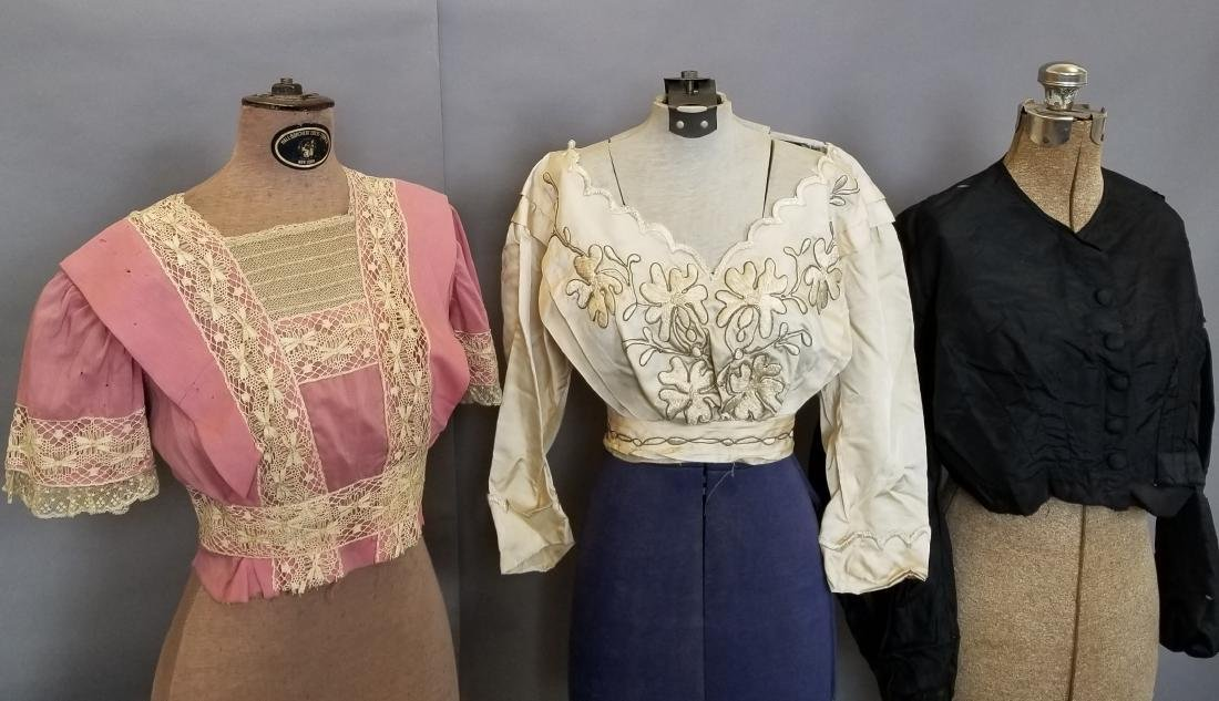 Three Bodices 1860-1912