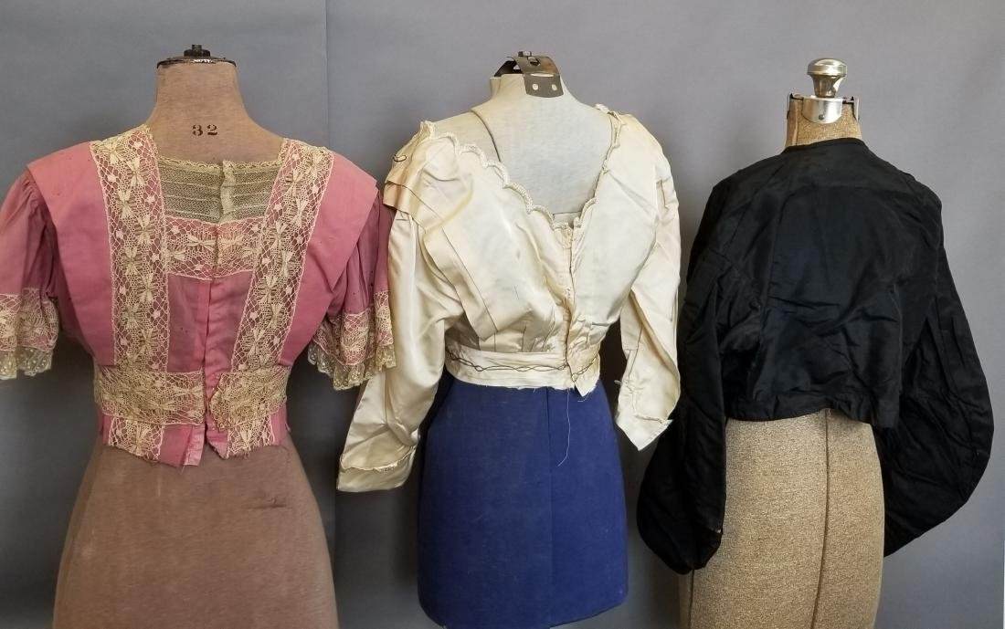 Three Bodices 1860-1912 - 2