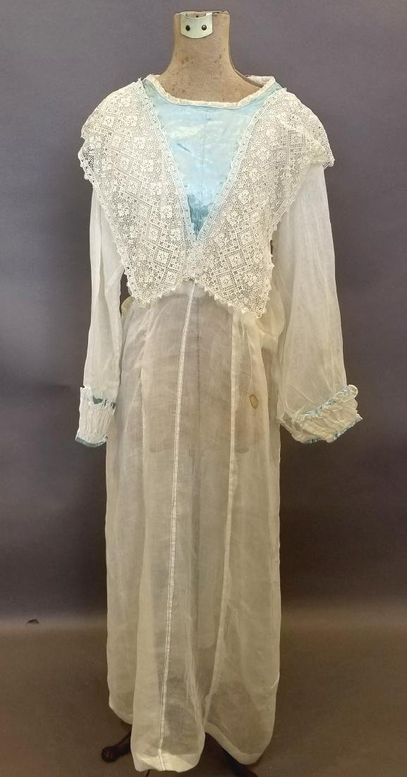 Lace and Linen Day Dress