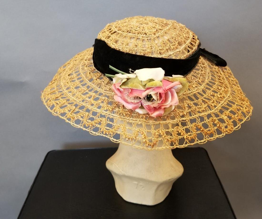 Natural Straw Hat - 3