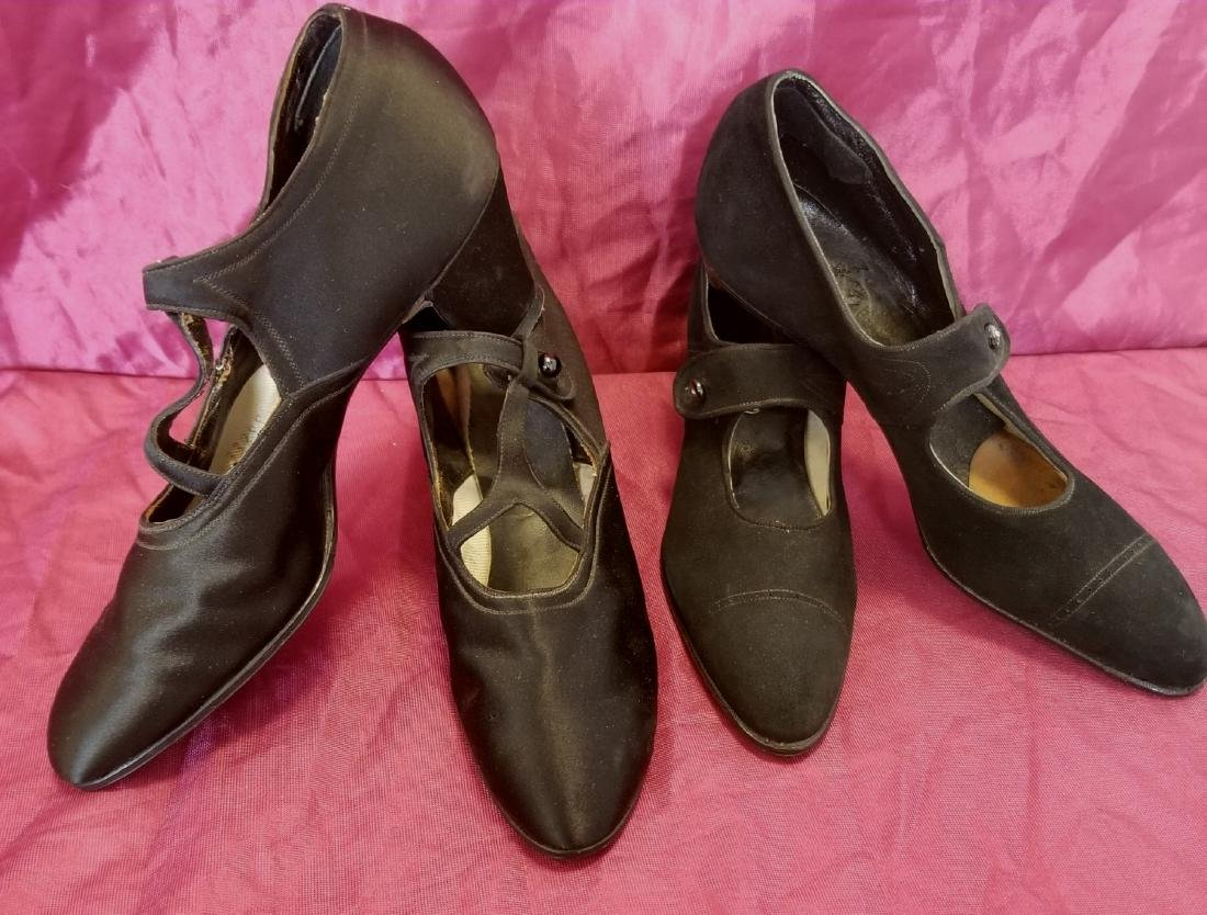Two Pairs of Black Shoes