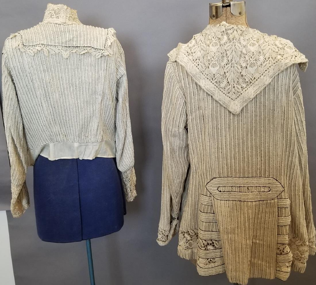 Two Pieces, Striped Chenille Jacket and Top - 5