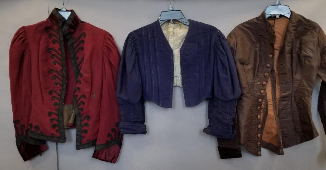 Three Antique Jackets