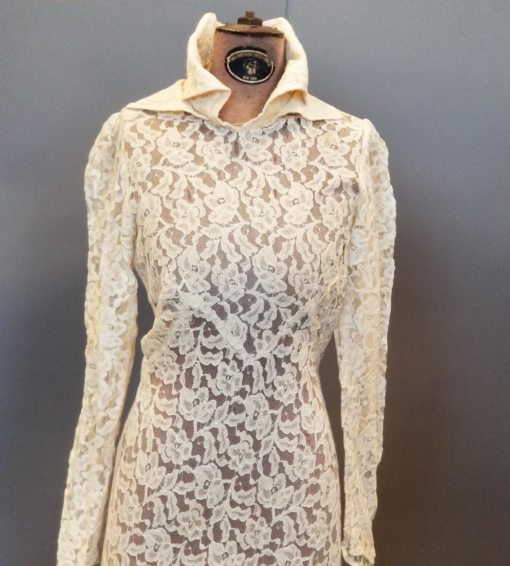 Duchess-of-Windsor Style Wedding Dress - 2