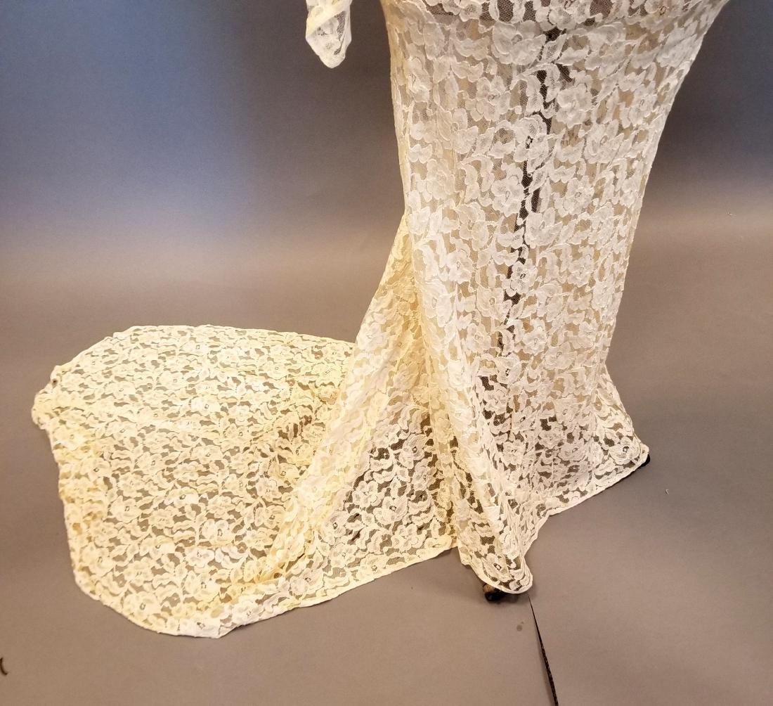 Duchess-of-Windsor Style Wedding Dress - 3