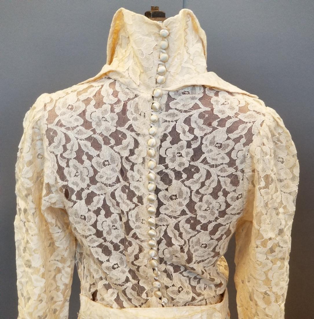 Duchess-of-Windsor Style Wedding Dress - 6