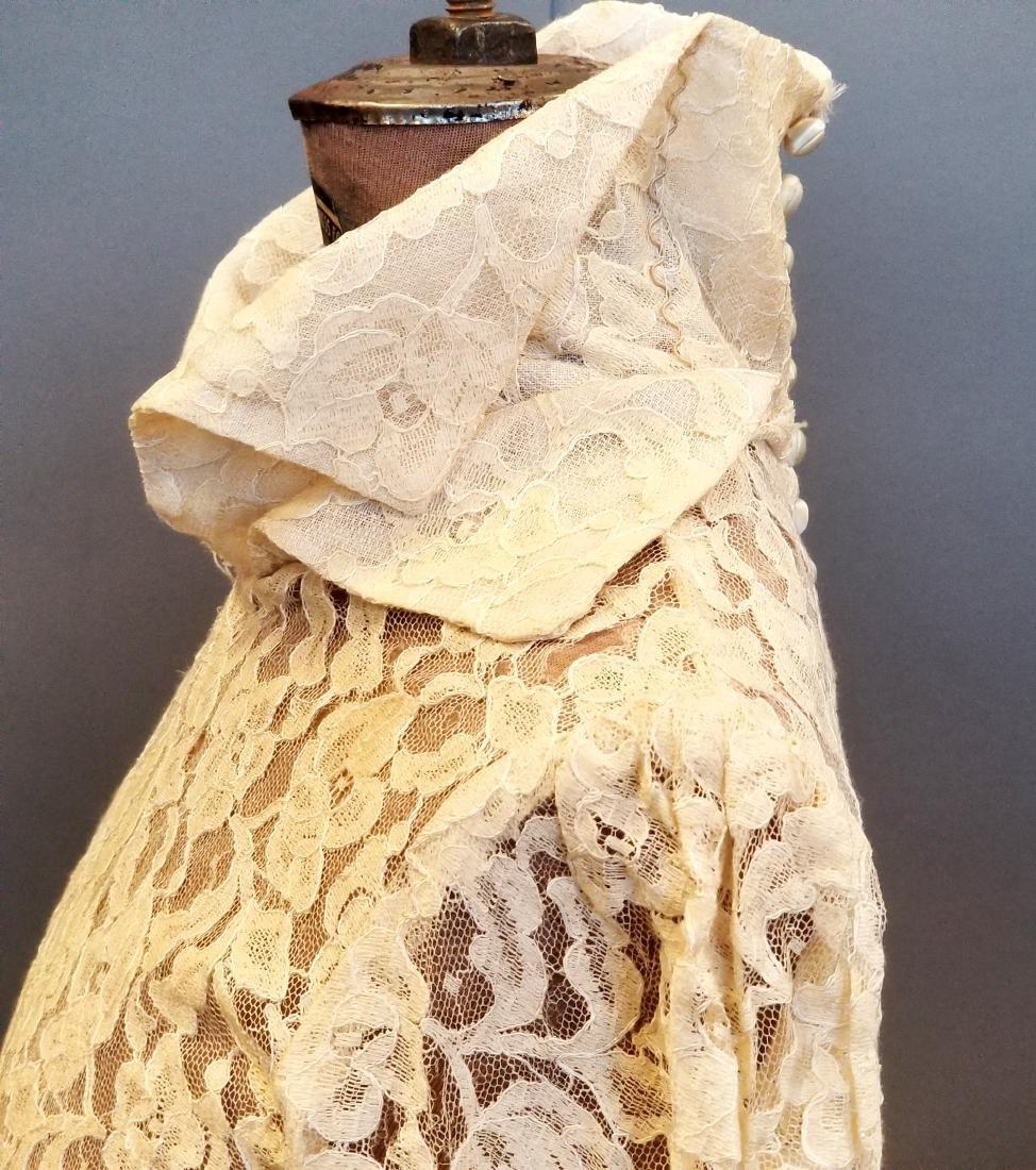 Duchess-of-Windsor Style Wedding Dress - 7