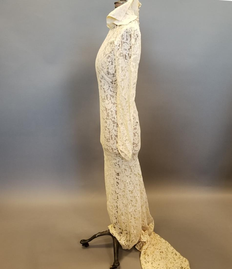 Duchess-of-Windsor Style Wedding Dress - 8