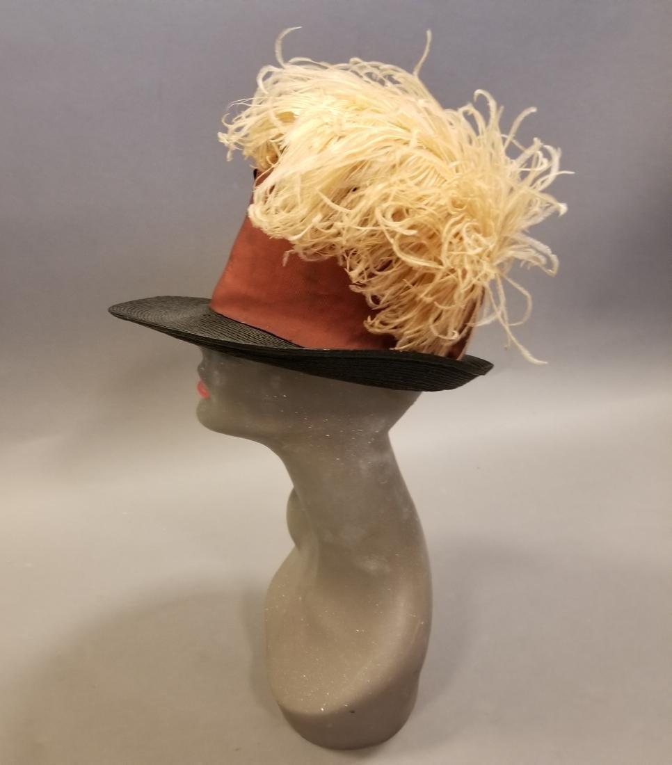 Black Fashionable Straw Hat
