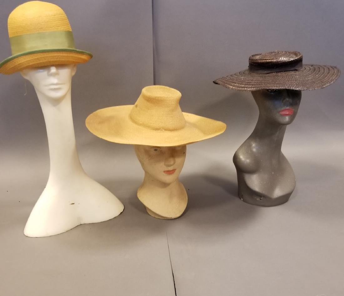 Antique Hat Grouping