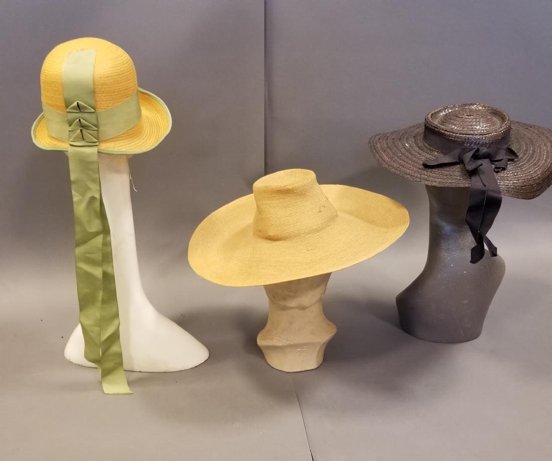 Antique Hat Grouping - 4