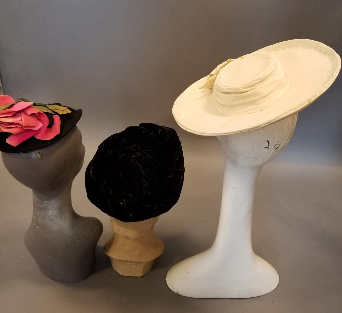 Antique Hat Grouping - 2