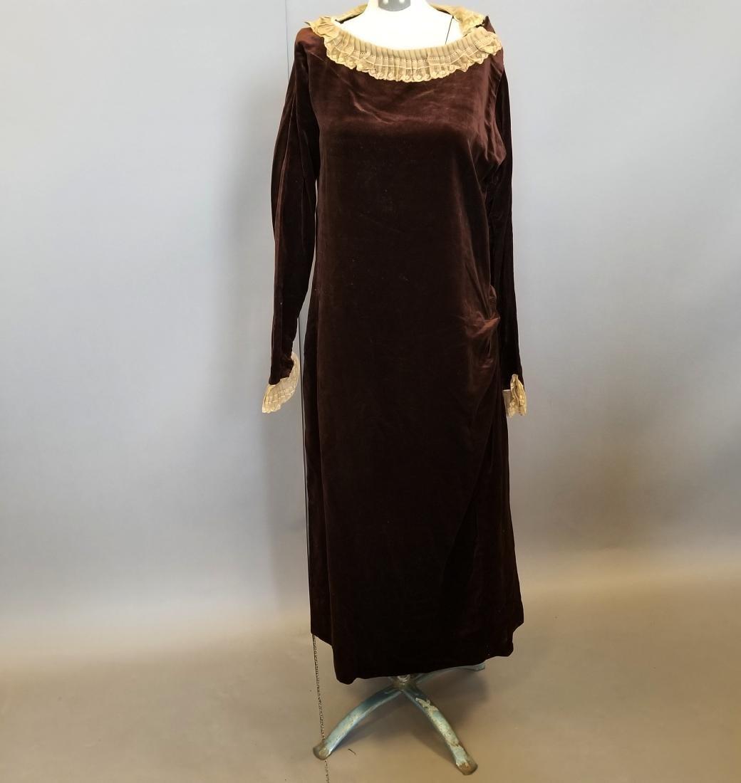 Velvet Wedding Dress