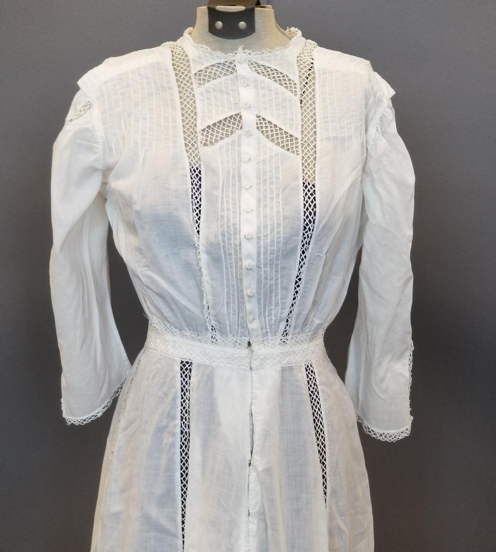 White Lingerie Dress