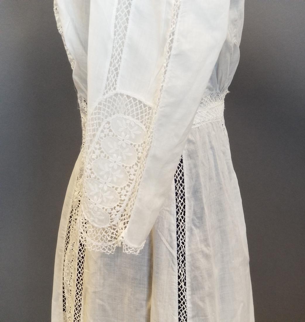 White Lingerie Dress - 2