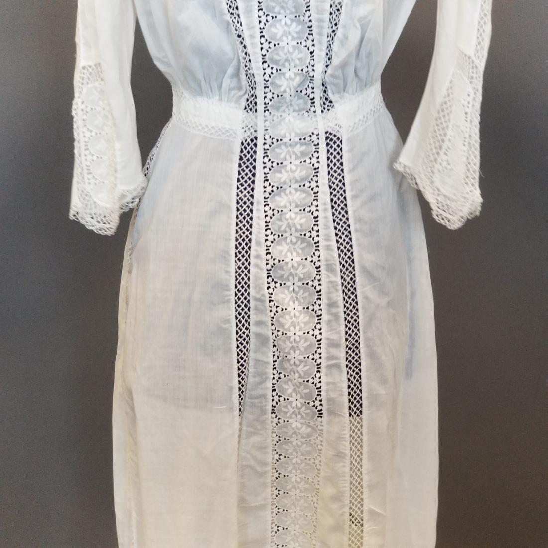White Lingerie Dress - 3