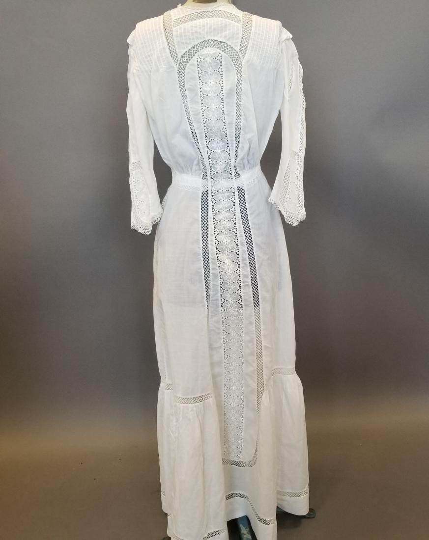 White Lingerie Dress - 4