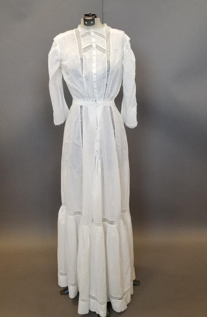 White Lingerie Dress - 5