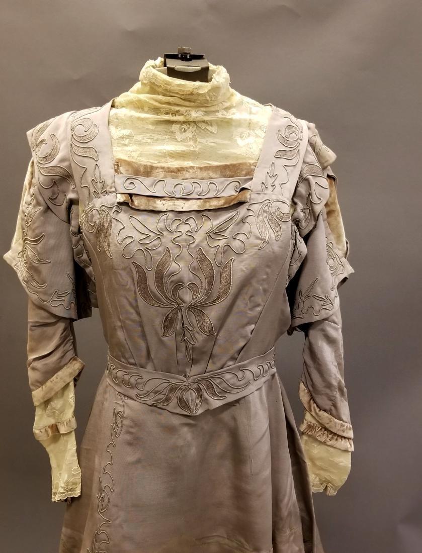 Mauve Reception Dress