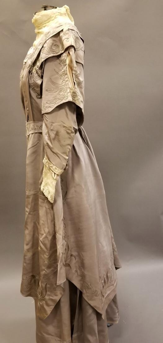 Mauve Reception Dress - 2