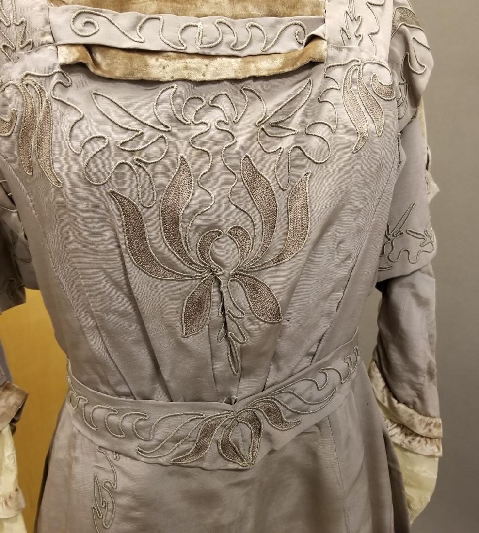 Mauve Reception Dress - 4