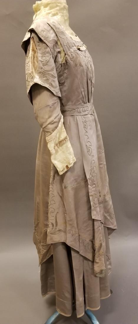 Mauve Reception Dress - 5