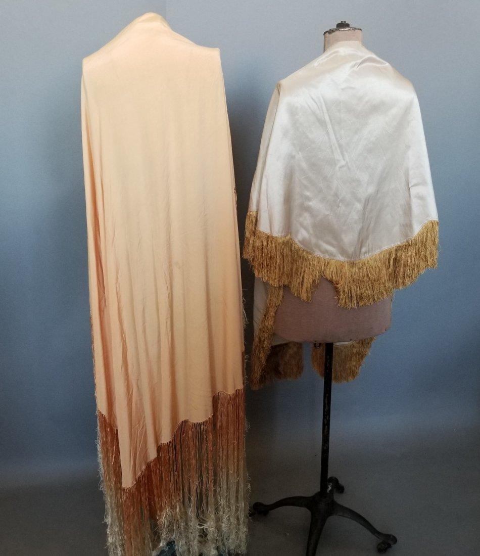 Two Silk Shawls