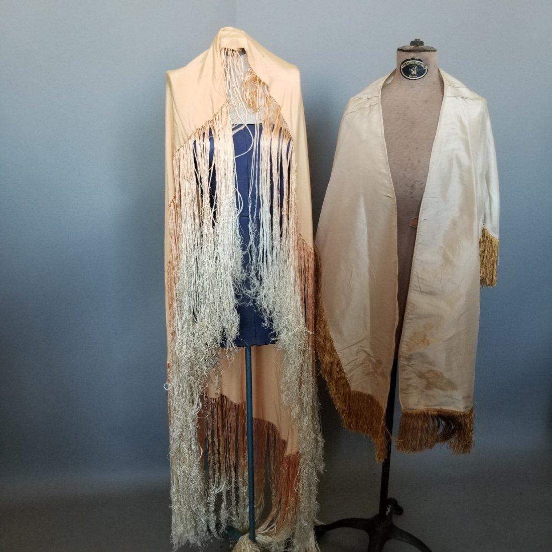 Two Silk Shawls - 2