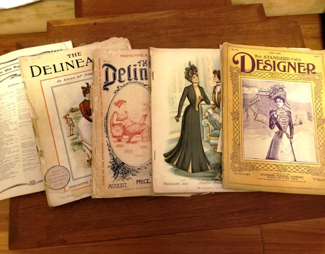 Late 1800's Early 1900's Fashion Magazines