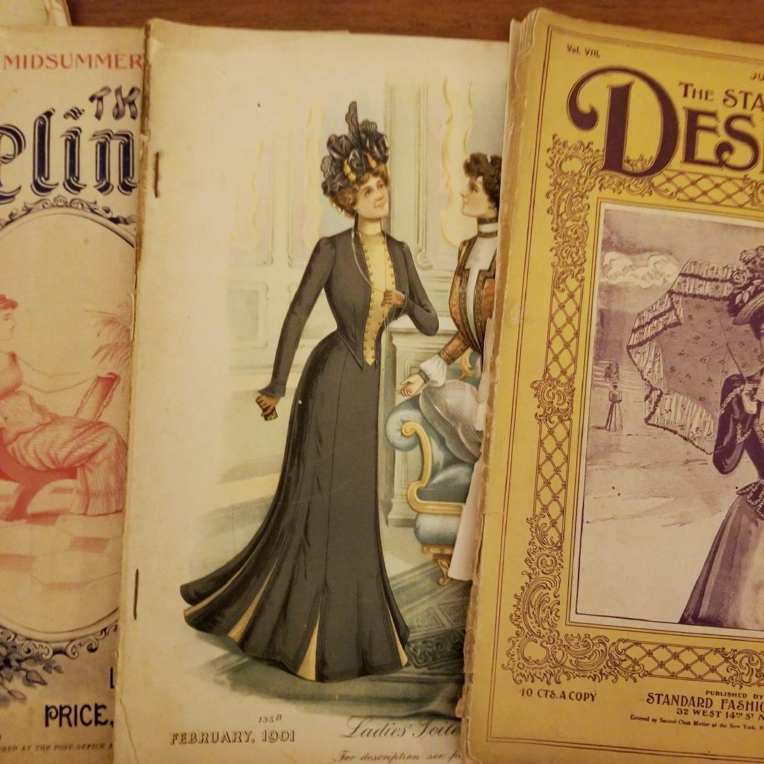 Late 1800's Early 1900's Fashion Magazines - 2