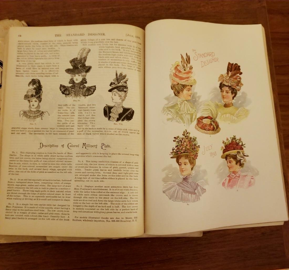Late 1800's Early 1900's Fashion Magazines - 3