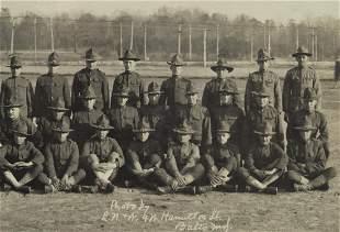 152 SOLDIERS PANORAMA EDGEWOOD ARSENAL