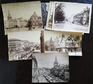 BUSY EUROPEAN STREET SCENE PHOTOS