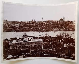 ISTANBUL TURKEY 10 SILVER PRINT PHOTOGRAPHS