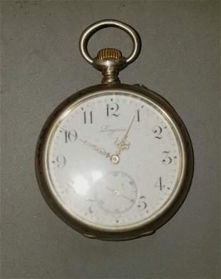 Longines Pocket Watch Sterling Silver