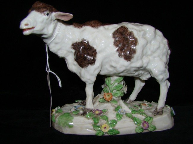 10: 19 Century  Continental Sheep Figure