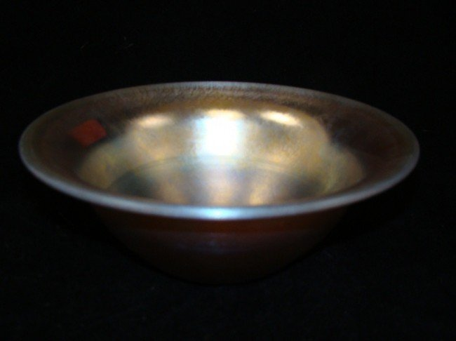 13: Tiffany Favrile  Bowl