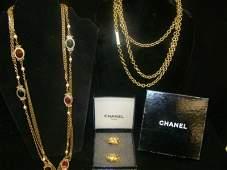 1: Chanel 2 Necklaces
