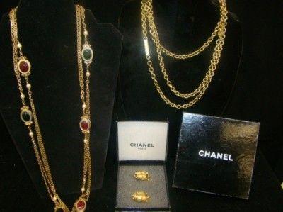 Chanel 2 Necklaces