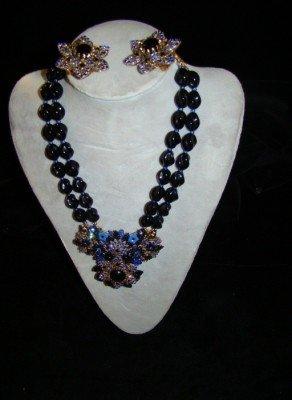 1A: Hagler Necklace/Earring Parure
