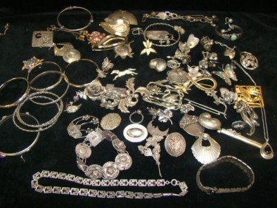 13: Sterling Jewelry Lot