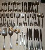 69B: Sterling Silver Flatware Service