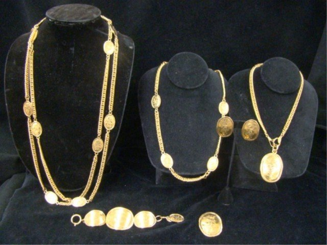 1: 7 Piece Lot of  Chanel Jewelry