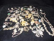 114: Assorted Lot of Sterling Jewelry etc.