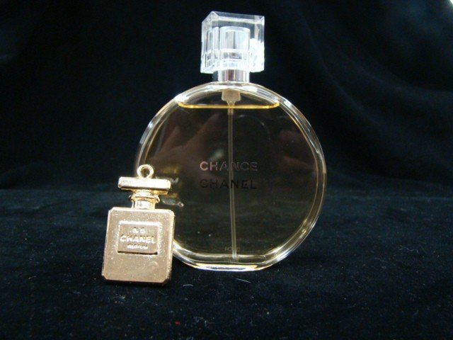 1A: Chanel Advertising Pendant and Chanel Perfume