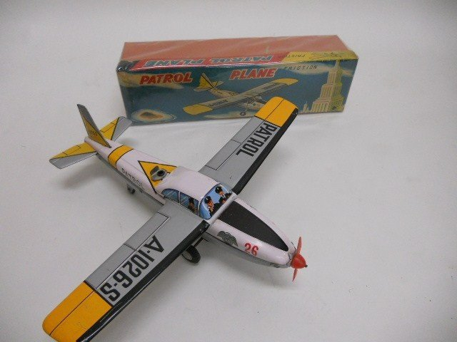 9: Patrol Plane Friction Toy