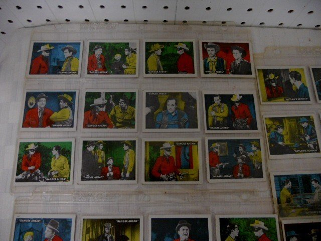 13: Lot of Lone Ranger and Tonto 1950'S ED-U Cards