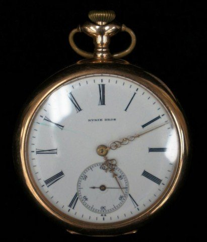 11: Ryrie Brothers 14K Pocket Watch