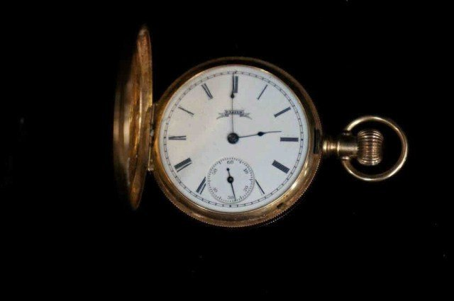 14: Elgin 14K Pocket Watch